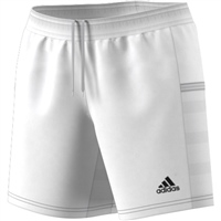 Adidas (Teamwear) T19 KNIT SHORTS - WOMENS - White