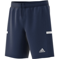 Adidas (Teamwear) T19 KNIT SHORTS-YOUTH - Navy/White
