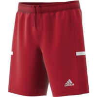 Adidas (Teamwear) T19 KNIT SHORTS-YOUTH - Red/White