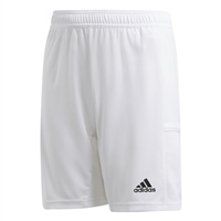 Adidas (Teamwear) T19 KNIT SHORTS-YOUTH - White