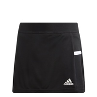 Adidas (Teamwear) T19 SKORT - GIRLS - Black/White