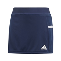 Adidas (Teamwear) T19 SKORT - GIRLS - Navy/White