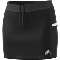 Adidas (Teamwear) T19 SKORT - WOMENS - Black/White