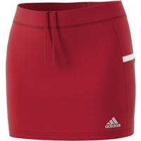 Adidas (Teamwear) T19 SKORT - WOMENS - Red/White