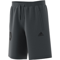 Adidas (Teamwear) TANGO SWEAT LOGO SHORTS - Grey