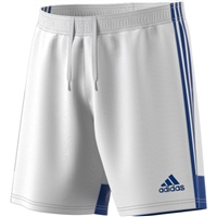 Adidas TASTIGO 19 SHORTS - White/Royal Blue