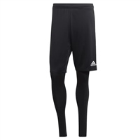 Adidas (Teamwear) TIRO 19 2IN1 SHORTS - Black/White