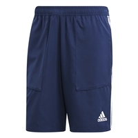 Adidas (Teamwear) TIRO 19 WOVEN SHORTS-YOUTH - Dark Blue/White