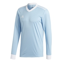 Adidas TABELA 18 JERSEY L/SLEEVE - Clear Blue/White