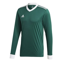 Adidas TABELA 18 JERSEY L/SLEEVE - Green/White