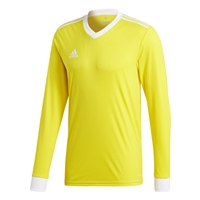 Adidas (Teamwear) TABELA 18 JERSEY L/SLEEVE - Yellow/White