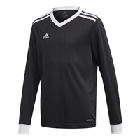 Adidas (Teamwear) TABELA 18 JERSEY L/SLEEVE-YOUTH - Black/White