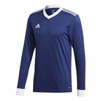 Adidas (Teamwear) TABELA 18 JERSEY L/SLEEVE-YOUTH - Dark Blue/White