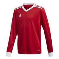Adidas (Teamwear) TABELA 18 JERSEY L/SLEEVE-YOUTH - Red/White