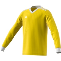 Adidas (Teamwear) TABELA 18 JERSEY L/SLEEVE-YOUTH - Yellow/White