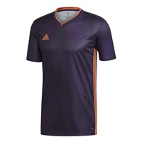 Adidas (Teamwear) TIRO 19 JERSEY - Purple/Orange