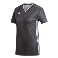 Adidas (Teamwear) TIRO 19 JERSEY - WOMENS - Grey/White