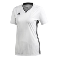 Adidas (Teamwear) TIRO 19 JERSEY - WOMENS - White/Black