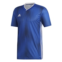 Adidas (Teamwear) TIRO 19 JERSEY-YOUTH - Bold Blue/White