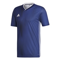 Adidas (Teamwear) TIRO 19 JERSEY-YOUTH - Dark Blue/White