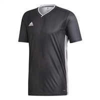 Adidas (Teamwear) TIRO 19 JERSEY-YOUTH - Grey/White