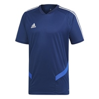 Adidas (Teamwear) TIRO 19 TRAINING JERSEY - Dark Blue/Bold Blue/White