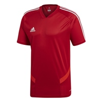 Adidas (Teamwear) TIRO 19 TRAINING JERSEY - Red/White