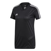 Adidas (Teamwear) TIRO 19 TRAINING JERSEY - WOMENS - Black/White