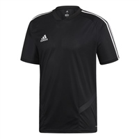 Adidas (Teamwear) TIRO 19 TRAINING JERSEY-YOUTH - Black/White