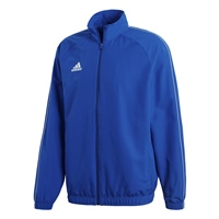 Adidas (Teamwear) CORE 18 PRESENTATION JACKET-YOUTH - Bold Blue/White