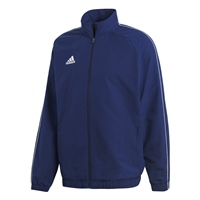 Adidas (Teamwear) CORE 18 PRESENTATION JACKET-YOUTH - Dark Blue/White