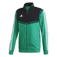 Adidas (Teamwear) TIRO 19 PRESENTATION JACKET-YOUTH - Bold Green/White