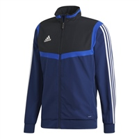 Adidas (Teamwear) TIRO 19 PRESENTATION JACKET-YOUTH - Dark Blue/Black/White