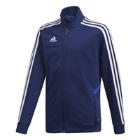 Adidas (Teamwear) TIRO 19 TRAINING JACKET-YOUTH - Dark Blue/Bold Blue/White