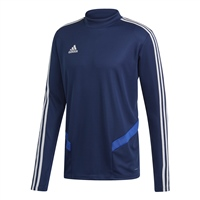 Adidas (Teamwear) TIRO 19 TRAINING TOP-YOUTH - Dark Blue/Bold Blue/White