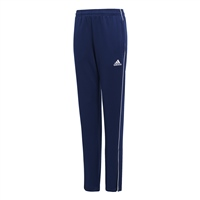 Adidas (Teamwear) CORE 18 SKINNY TRAINING PANTS-YOUTH - Dark Blue/White