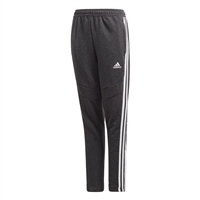 Adidas (Teamwear) TIRO 19 FRENCH TERRY PANTS-YOUTH - Black Melange/White