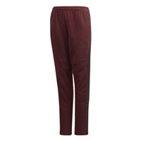 Adidas (Teamwear) TIRO 19 FRENCH TERRY PANTS-YOUTH - Burgundy Melange/Black