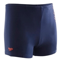 Speedo Boys Essential Swimming Shorts - Navy/Red