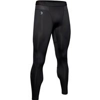 Under Armour Mens RUSH ColdGear Leggings - Black