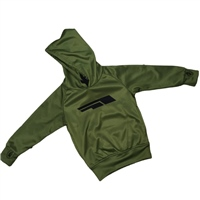 Briga Boys Poly Fleece P/O Hoodie - Khaki/Black