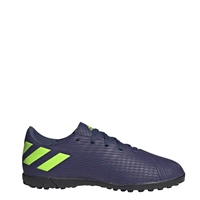 Adidas Nemeziz Messi 19.4 Turf Trainers - Kids - Navy/Purple/Green