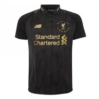 New Balance Liverpool FC 6 Times Jersey - Black