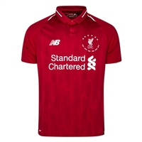 New Balance Liverpool FC 6 Times Jersey - Kids - Red