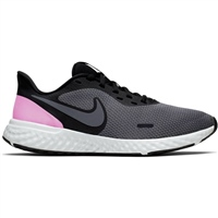 Nike Womens Revolution 5 - Grey/Black/Pink