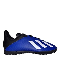 Adidas X 19.4 Kids Turf Trainers - Royal/White/Black