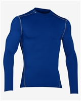 Under Armour Mens Cold Gear Armour Mock - Blue