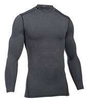 Under Armour Mens Cold Gear Armour Mock - Grey