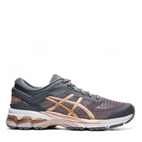 Asics Womens Gel Kayano 26 - Grey/Rose Gold