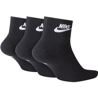 Nike Everday Essential Ankle Sock (3pk) - Black